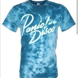 Men's Tye Dye Panic at the Disco shirt